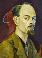 Self Portrait by Edwin G Lucas
